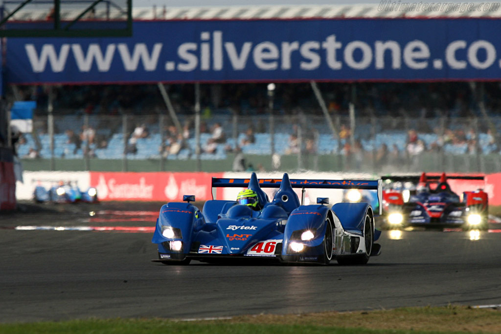 Early LMP2 leader - Chassis: 07S-03 - Entrant: Team LNT  - 2007 Le Mans Series Silverstone 1000 km
