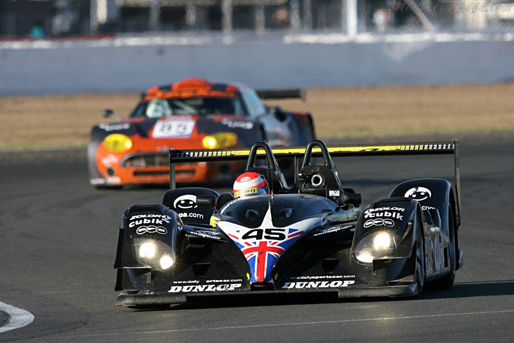 Embassy Radical was quick but fragile - Chassis: SR9005 - Entrant: Embassy Racing  - 2007 Le Mans Series Silverstone 1000 km