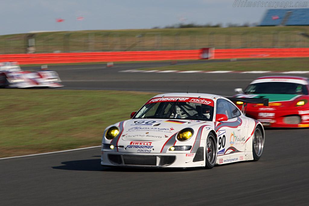Farnbacher Porsche through Club - Chassis: WP0ZZZ99Z7S799924 - Entrant: Farnbacher Racing  - 2007 Le Mans Series Silverstone 1000 km