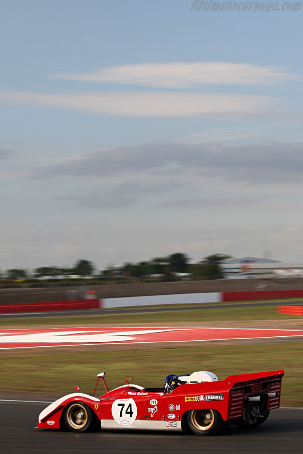 Ferrari 712 CanAm - Chassis: 1010 - Driver: Paul Knapfield  - 2007 Le Mans Series Silverstone 1000 km