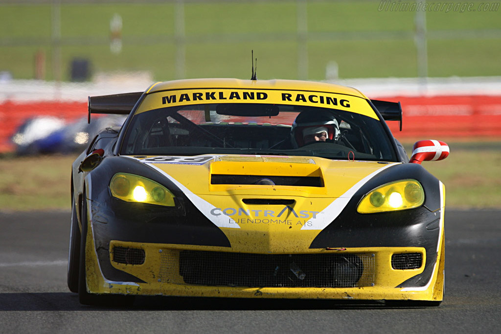 Finally a finish for the Markland Corvette - Chassis: 1G1YY26E265114144 - Entrant: Markland Racing  - 2007 Le Mans Series Silverstone 1000 km