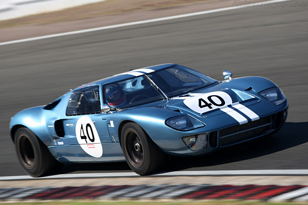 Ford GT40 - Chassis: GT40P/1078 - Driver: Claude Nahum - 2007 Le Mans Series Silverstone 1000 km