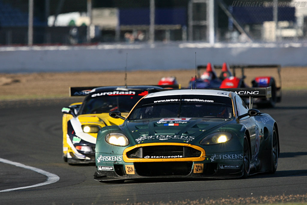 Fourth for the #51 - Chassis: DBR9/1 - Entrant: AMR Larbre  - 2007 Le Mans Series Silverstone 1000 km