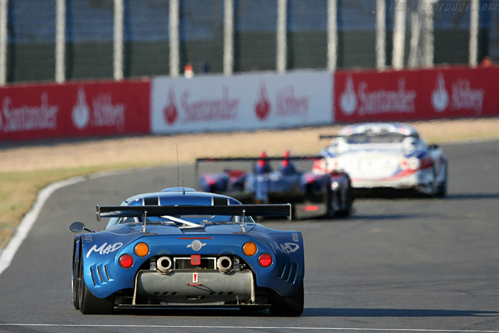 Fourth for the Speedy Spyker - Chassis: XL9AB01G97Z363193 - Entrant: Speedy Racing Team  - 2007 Le Mans Series Silverstone 1000 km