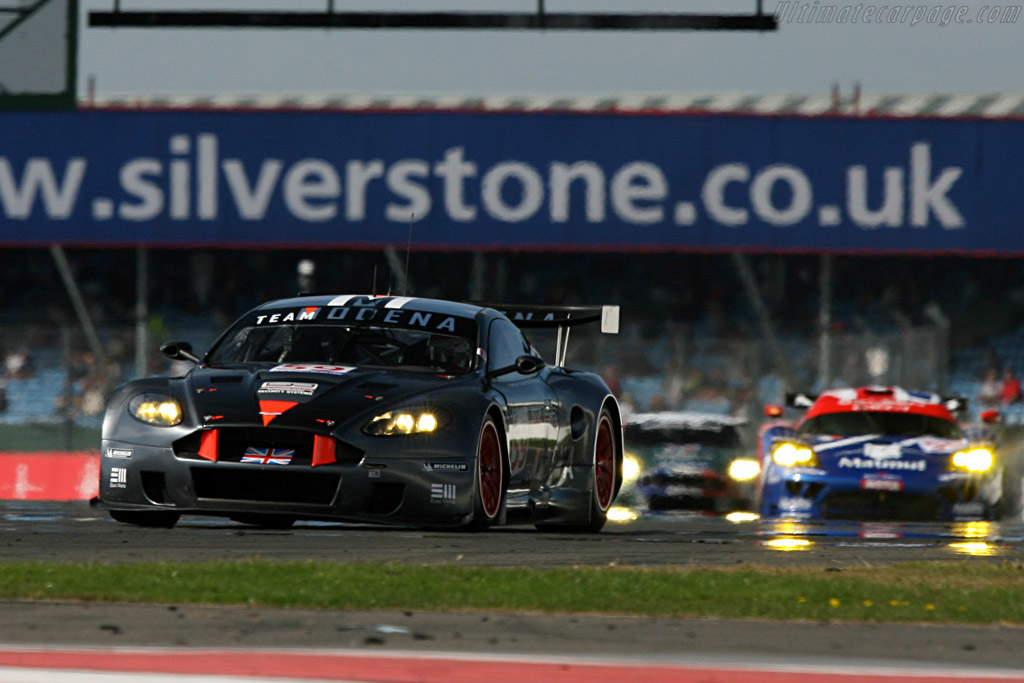 GT1 - Chassis: DBR9/101 - Entrant: Team Modena  - 2007 Le Mans Series Silverstone 1000 km