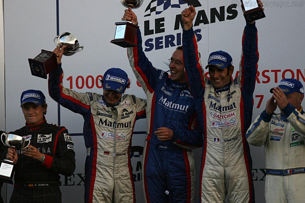 GT1 winners    - 2007 Le Mans Series Silverstone 1000 km
