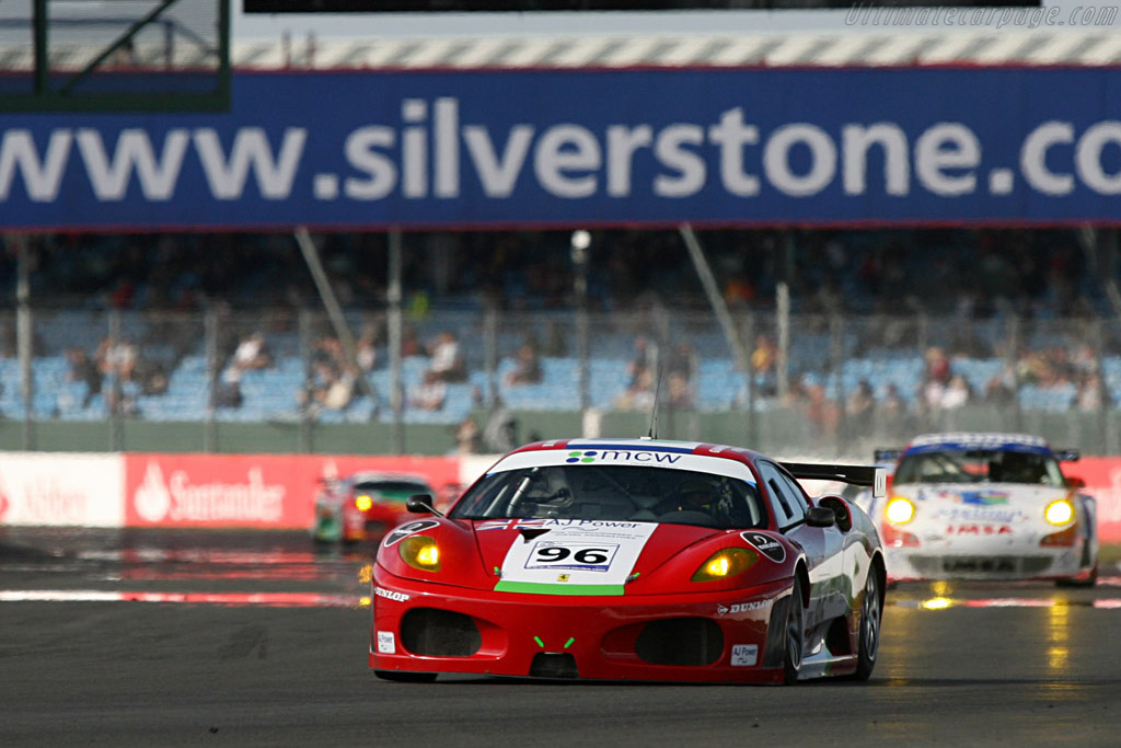 GT2 - Chassis: 2408 - Entrant: Virgo Motorsport  - 2007 Le Mans Series Silverstone 1000 km