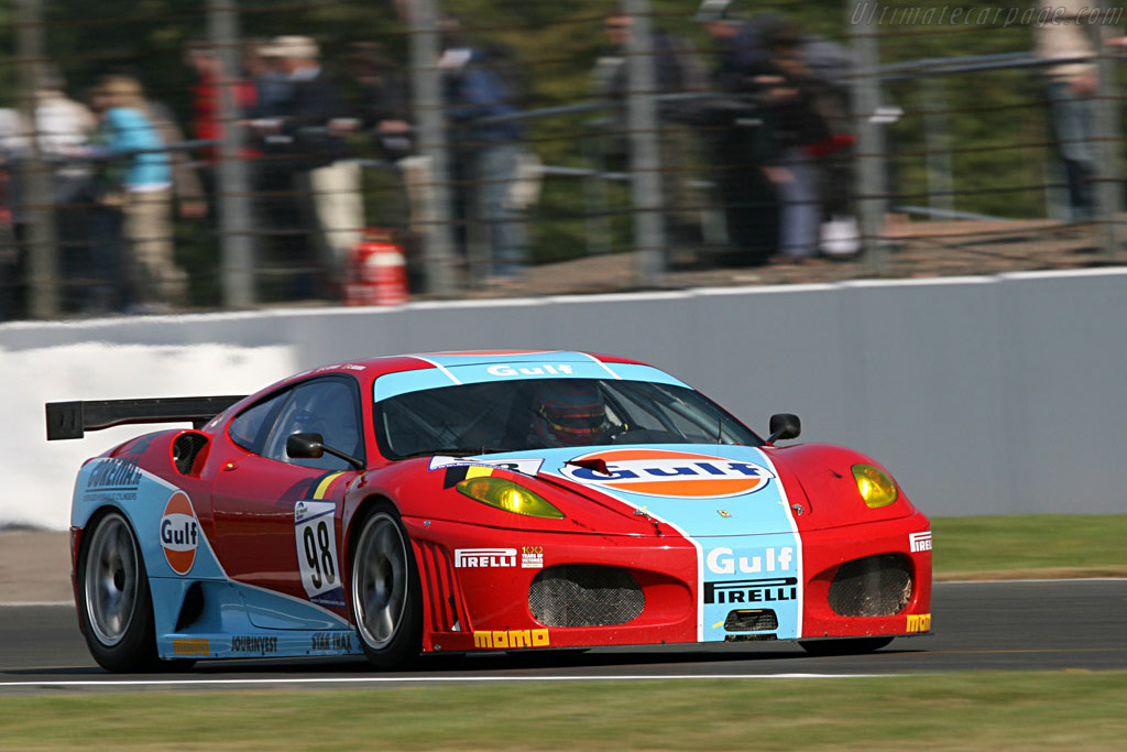 Ice Pol Ferrari - Chassis: 2452 - Entrant: Ice Pol Racing Team  - 2007 Le Mans Series Silverstone 1000 km