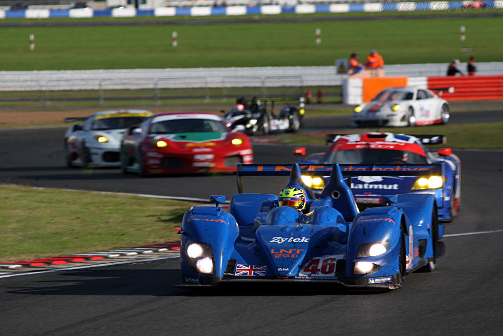 Impressive debut for the LNT Zytek - Chassis: 07S-03 - Entrant: Team LNT  - 2007 Le Mans Series Silverstone 1000 km