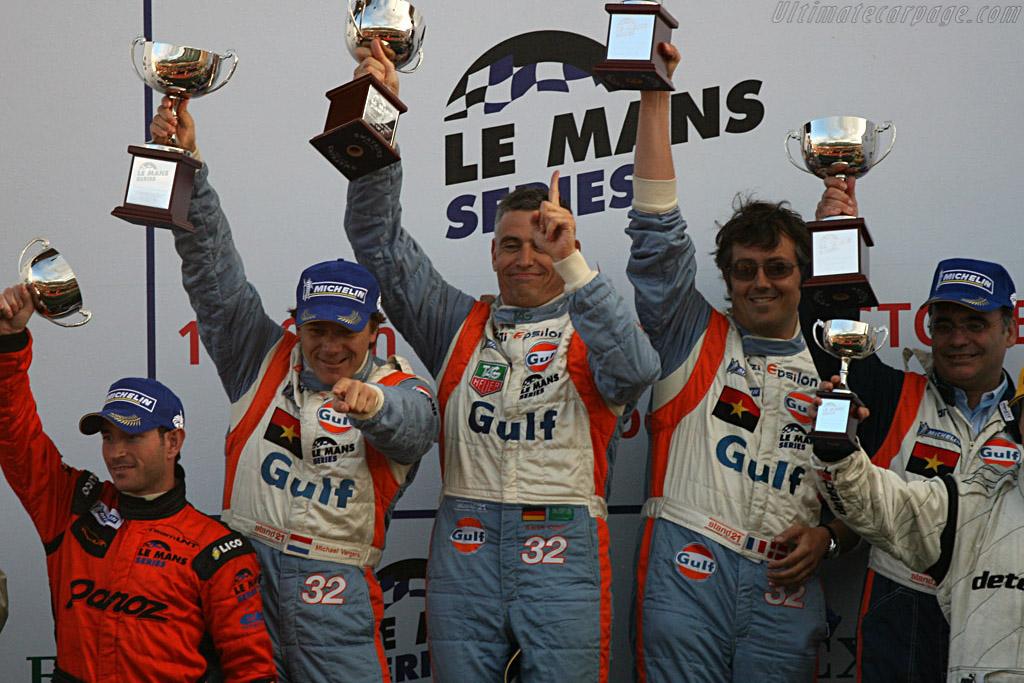 LMP2 winners    - 2007 Le Mans Series Silverstone 1000 km