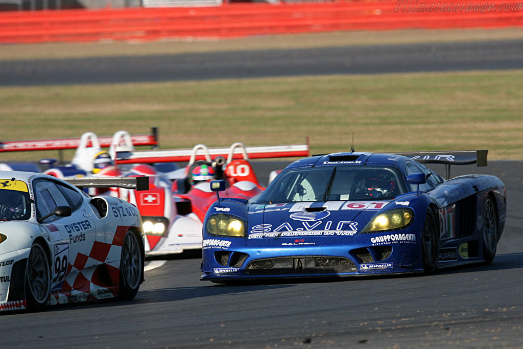 Lapping and getting lapped - Chassis: 080R - Entrant: Racing Box  - 2007 Le Mans Series Silverstone 1000 km
