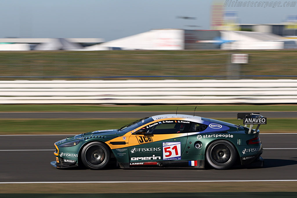 Larbre DBR9 - Chassis: DBR9/1 - Entrant: AMR Larbre  - 2007 Le Mans Series Silverstone 1000 km