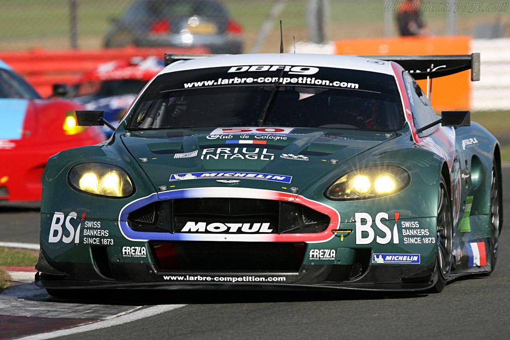 Larbre DBR9 - Chassis: DBR9/2 - Entrant: AMR Larbre  - 2007 Le Mans Series Silverstone 1000 km