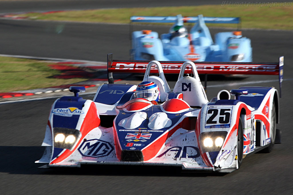 No luck this year for RML - Chassis: B0540-HU05 - Entrant: RML  - 2007 Le Mans Series Silverstone 1000 km