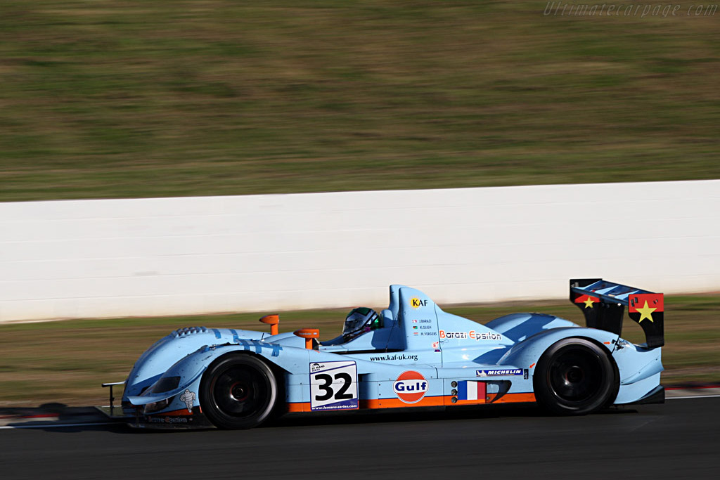 Ojjeh kept the Zytek on track and clinched the win - Chassis: 07S-01 - Entrant: Barazi Epsilon  - 2007 Le Mans Series Silverstone 1000 km