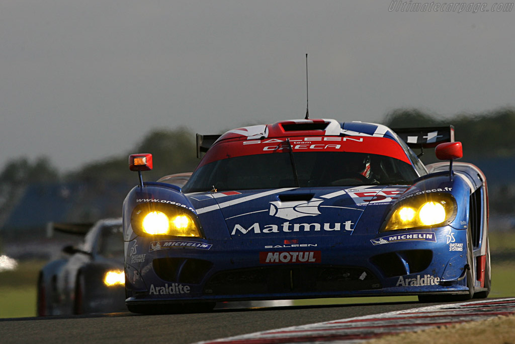 Ortelli had just gotten by Garcia - Chassis: 067R - Entrant: Team Oreca  - 2007 Le Mans Series Silverstone 1000 km