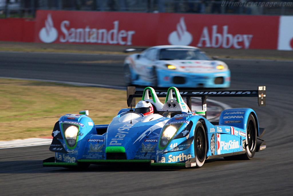 P2 for Collard and Bouillon - Chassis: 01-05 - Entrant: Pescarolo Sport  - 2007 Le Mans Series Silverstone 1000 km