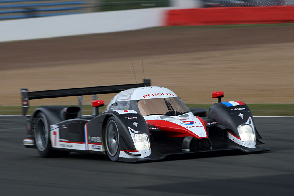 Peugeot - Chassis: 908-02 - Entrant: Team Peugeot Total  - 2007 Le Mans Series Silverstone 1000 km