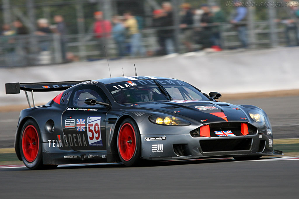 Pole-sitter finished second - Chassis: DBR9/101 - Entrant: Team Modena  - 2007 Le Mans Series Silverstone 1000 km