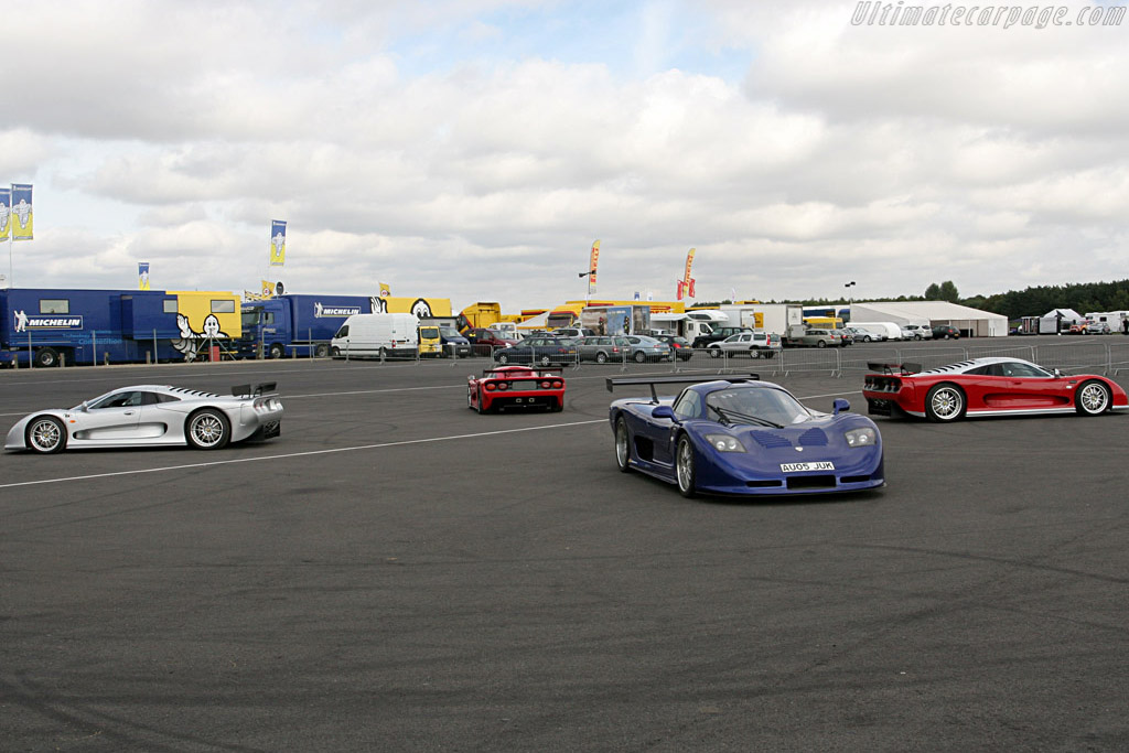 Short's Moslers    - 2007 Le Mans Series Silverstone 1000 km