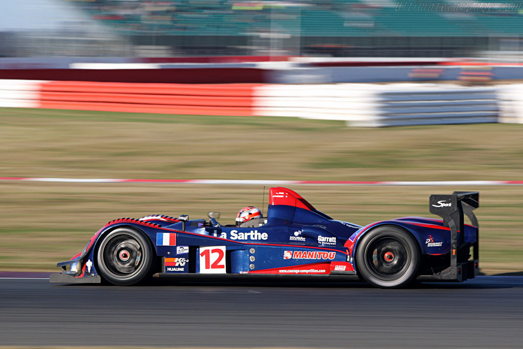 Sixth in the final race - Chassis: LC70-3 - Entrant: Courage Competition  - 2007 Le Mans Series Silverstone 1000 km