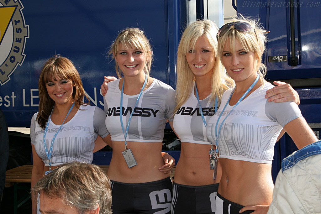 The Embassy girls    - 2007 Le Mans Series Silverstone 1000 km