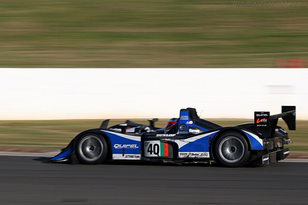 Third for the Iberians - Chassis: B0540-HU01 - Entrant: Quifel ASM Team  - 2007 Le Mans Series Silverstone 1000 km