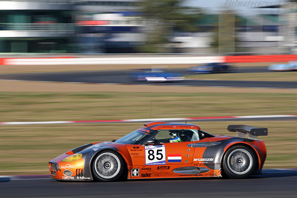 Third for the Spyker Squadron - Chassis: XL9GB11H150363098 - Entrant: Spyker Squadron  - 2007 Le Mans Series Silverstone 1000 km