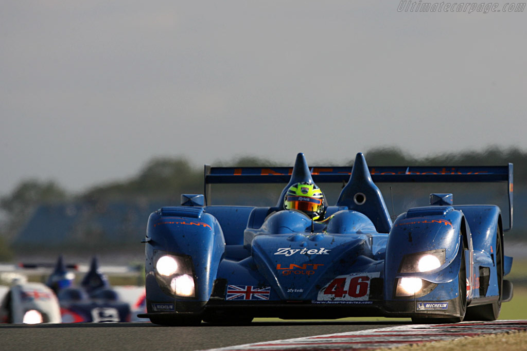 Two Zyteks - Chassis: 07S-03 - Entrant: Team LNT  - 2007 Le Mans Series Silverstone 1000 km