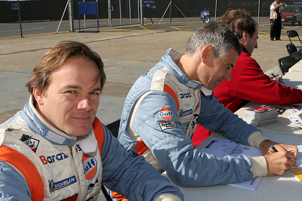 Vergers and Ojjeh    - 2007 Le Mans Series Silverstone 1000 km