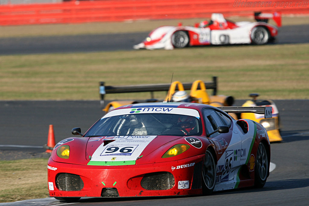 Virgo: GT winners and champs - Chassis: 2408 - Entrant: Virgo Motorsport  - 2007 Le Mans Series Silverstone 1000 km