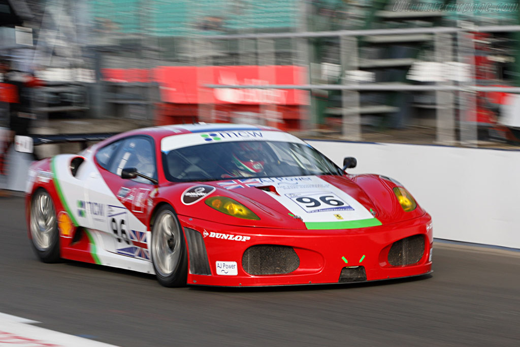 Virgo speeding through the pit-lane - Chassis: 2408 - Entrant: Virgo Motorsport  - 2007 Le Mans Series Silverstone 1000 km