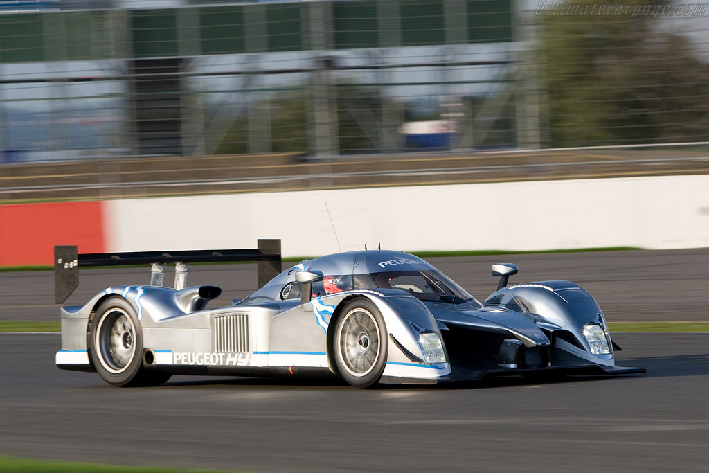 'Le Spark' on track    - 2008 Le Mans Series Silverstone 1000 km
