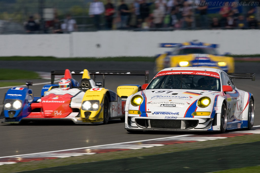 A colourful bunch - Chassis: WP0ZZZ99Z7S799924   - 2008 Le Mans Series Silverstone 1000 km