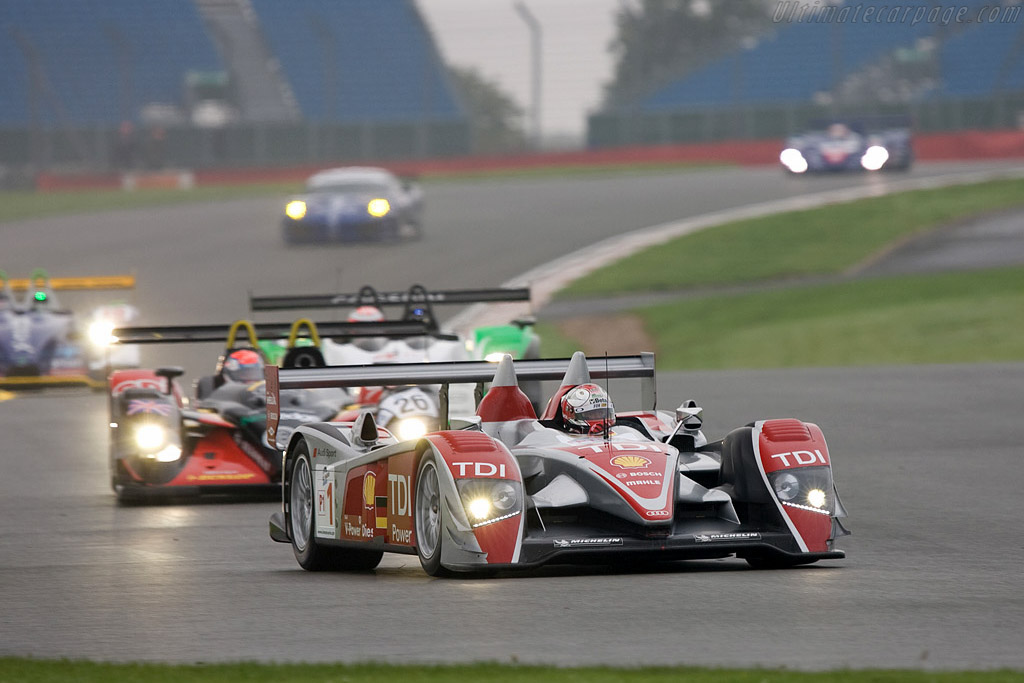 Audi R10 - Chassis: 201   - 2008 Le Mans Series Silverstone 1000 km
