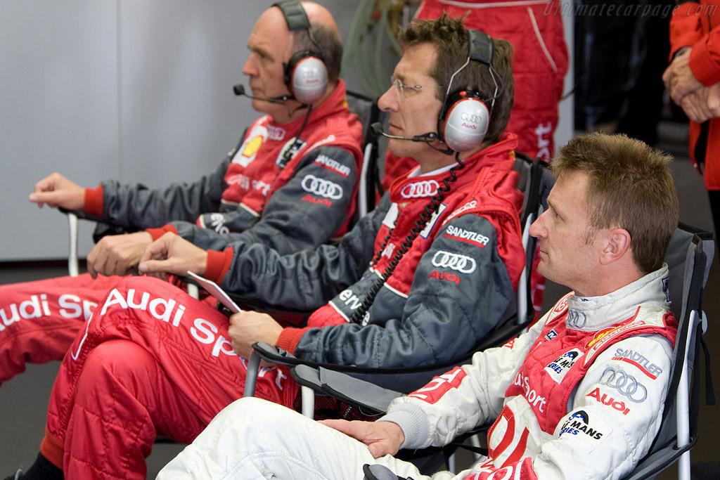 Audi top brass    - 2008 Le Mans Series Silverstone 1000 km