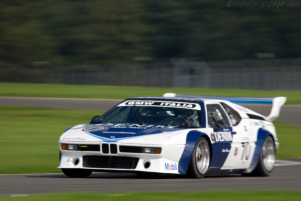 BMW M1 - Chassis: 4301040   - 2008 Le Mans Series Silverstone 1000 km