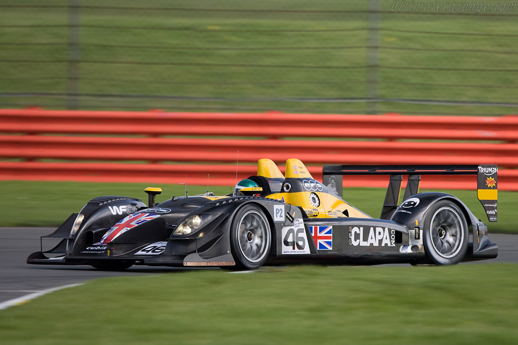 Bad luck for Embassy again - Chassis: WF01-02   - 2008 Le Mans Series Silverstone 1000 km