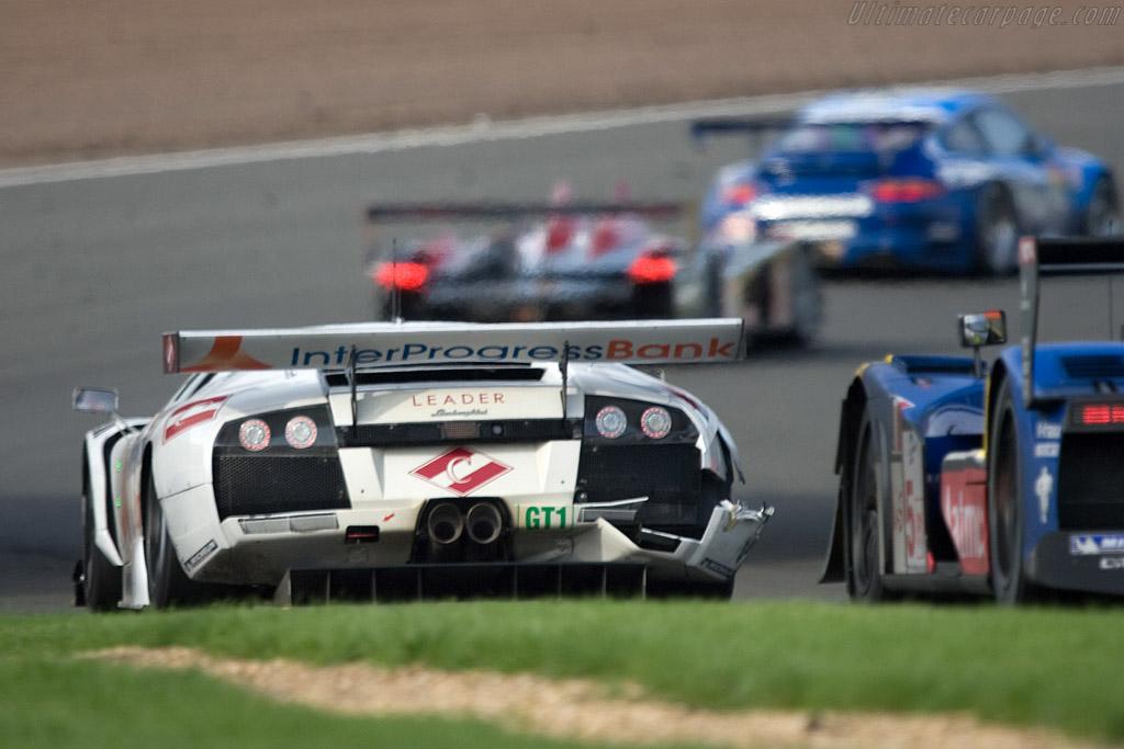 Battle scars - Chassis: LA01064   - 2008 Le Mans Series Silverstone 1000 km
