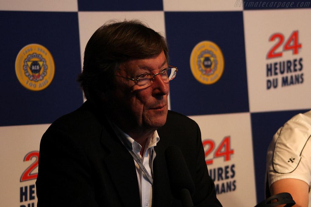 Daniel Poissenot explains the plans for the future    - 2008 Le Mans Series Silverstone 1000 km