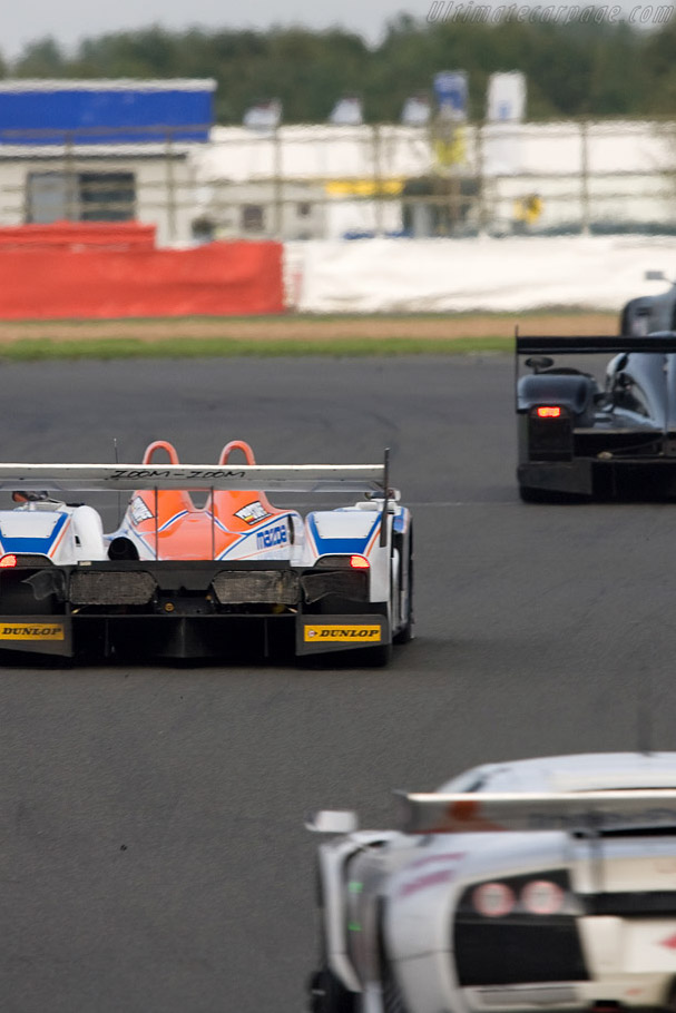 Eighth for the Mazda Lola - Chassis: B0540-HU07   - 2008 Le Mans Series Silverstone 1000 km