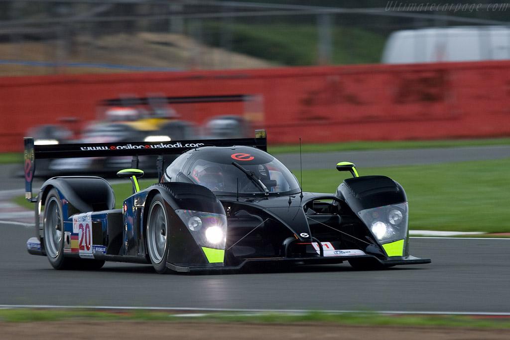 Epsilon-Euskadi EE1 Judd - Chassis: 001   - 2008 Le Mans Series Silverstone 1000 km