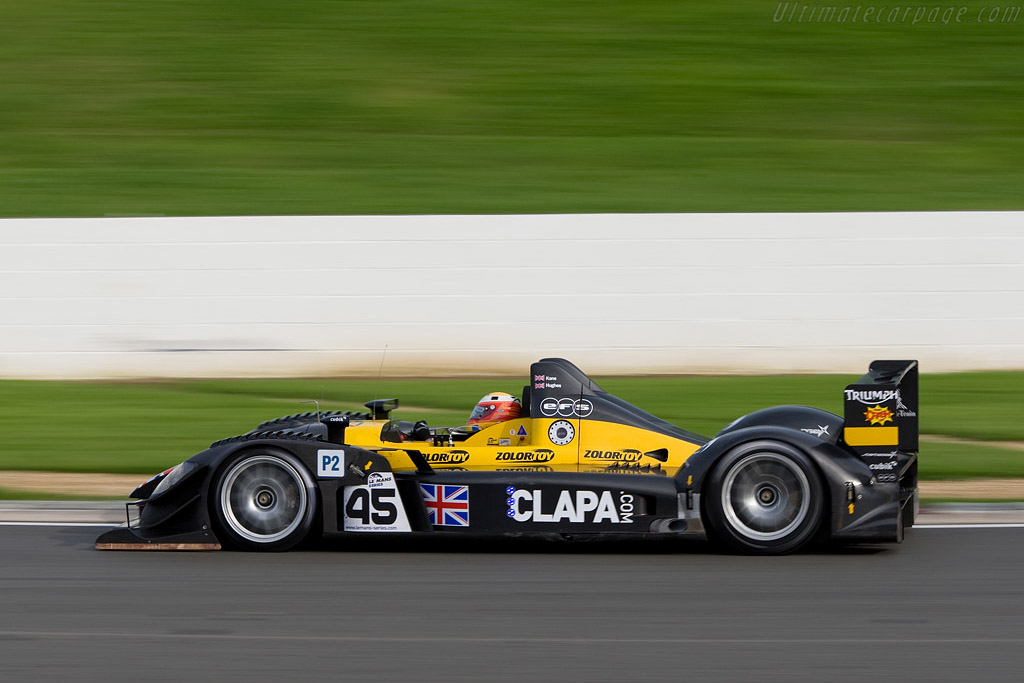 Finished third, classified sixth - Chassis: WF01-01   - 2008 Le Mans Series Silverstone 1000 km