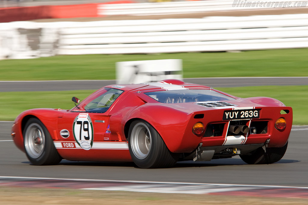 Ford GT40    - 2008 Le Mans Series Silverstone 1000 km