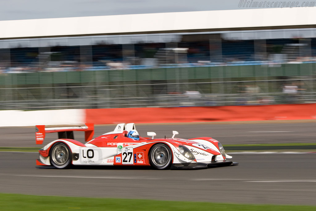 Fredy Lienhard's last stint - Chassis: 9R6 707   - 2008 Le Mans Series Silverstone 1000 km