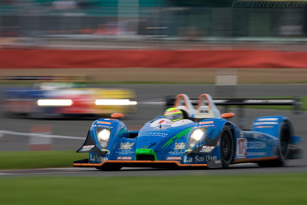 French racing blue - Chassis: 01-07   - 2008 Le Mans Series Silverstone 1000 km