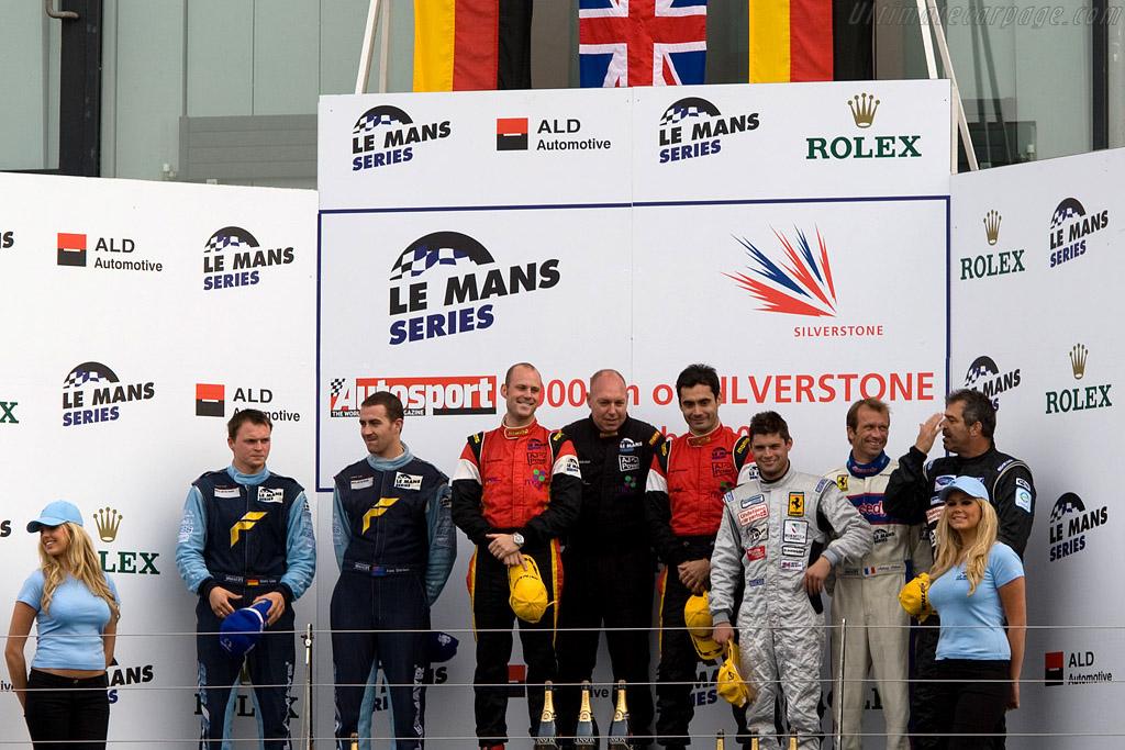GT2 Podium    - 2008 Le Mans Series Silverstone 1000 km