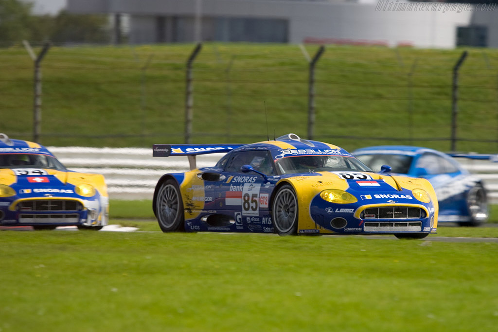 GT2 in the mix - Chassis: XL9AB01G37Z363190   - 2008 Le Mans Series Silverstone 1000 km