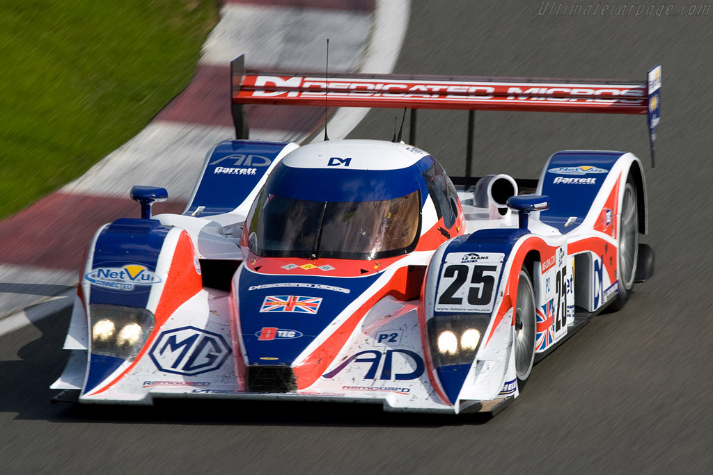 Good looking from any angle - Chassis: B0880-HU03   - 2008 Le Mans Series Silverstone 1000 km