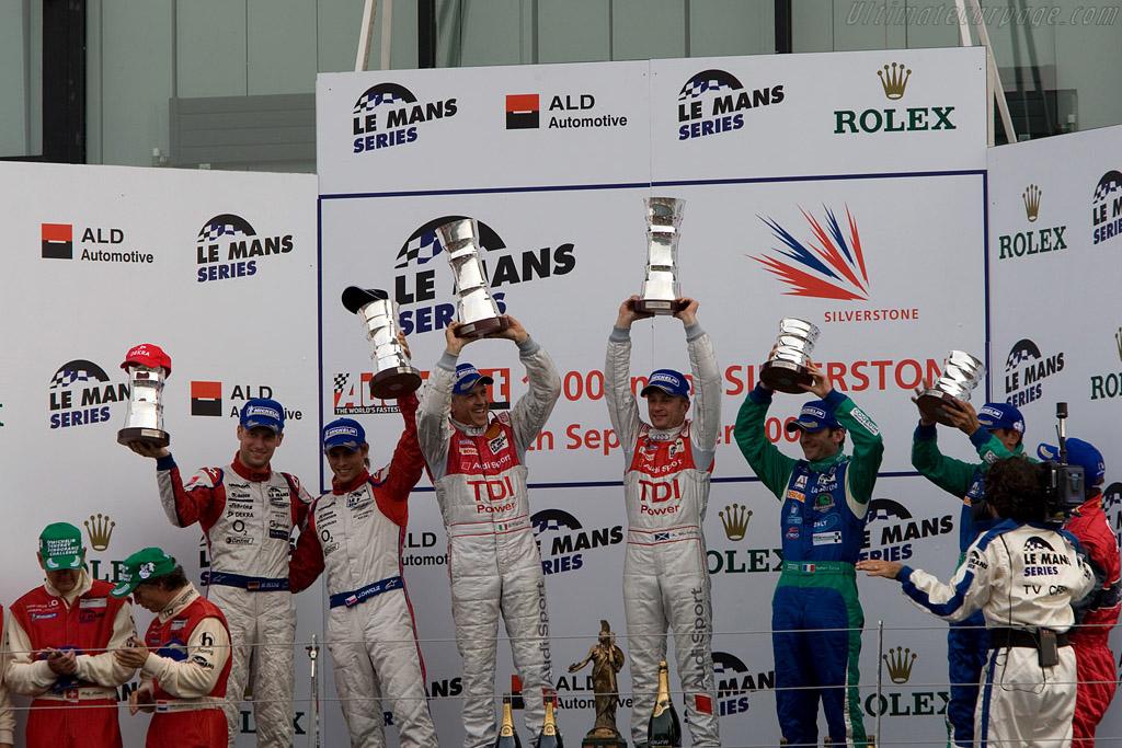 LMP1 winners    - 2008 Le Mans Series Silverstone 1000 km